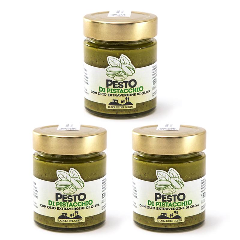 Pesto di pistacchio - Confezione da 3