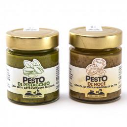Pesto di pistacchio + pesto...