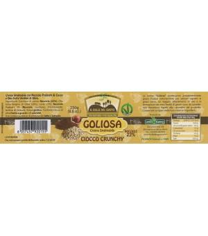 Ciocco Crunchy Etichetta